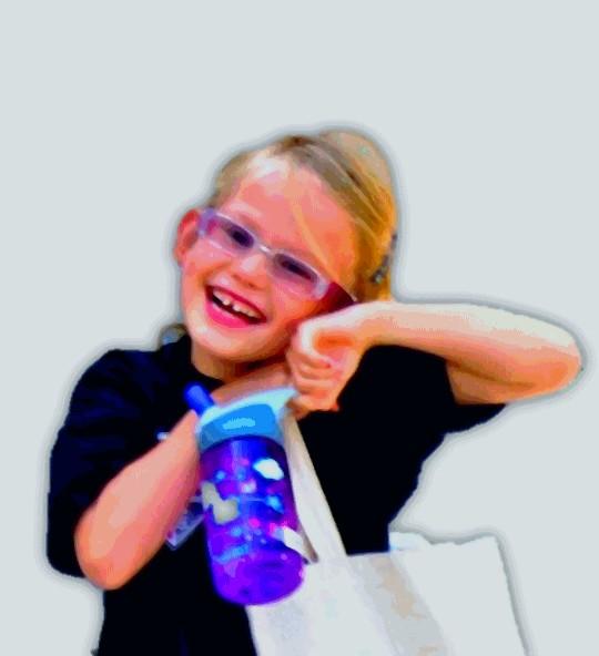Violet Affleck Smile